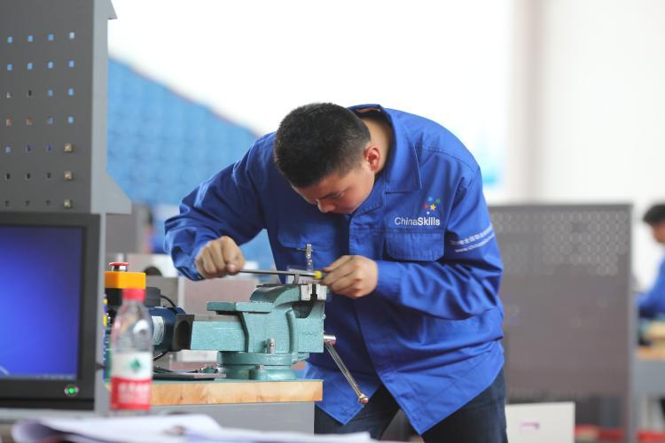 中职组-机械装配技术赛项